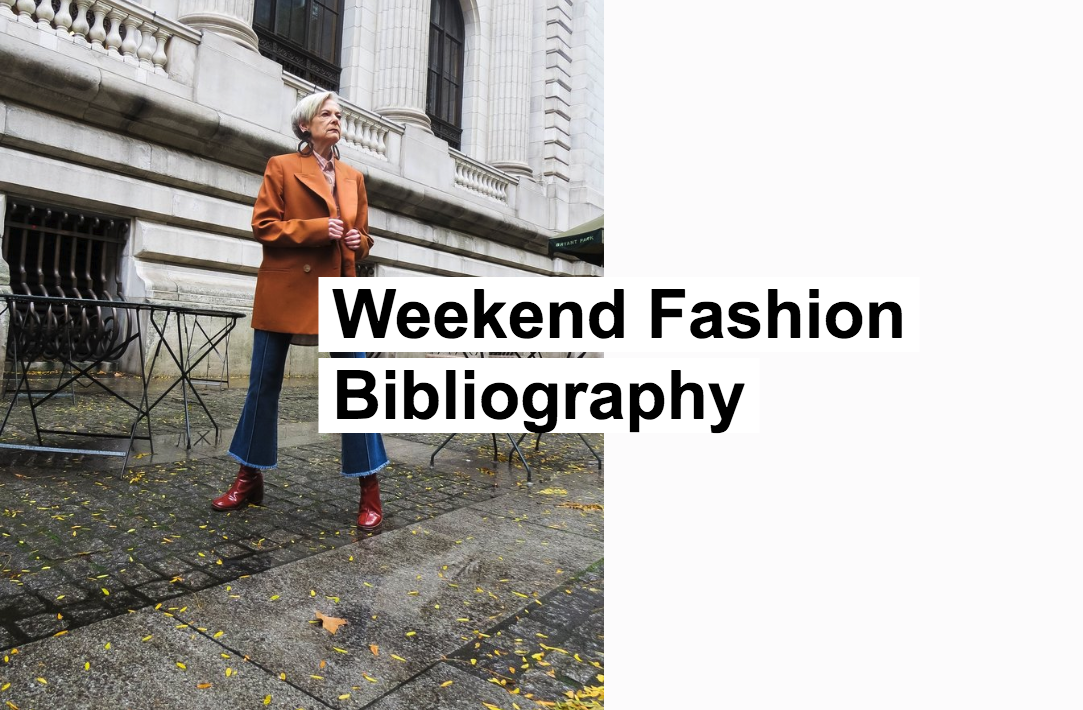 Weekend Fashion Bibliography